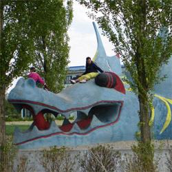 Drachenskulptur Parkstadt Leipzig